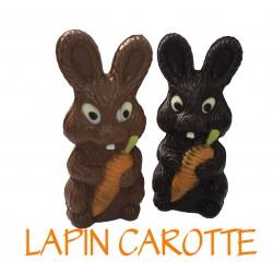 Lapin Carotte Noir